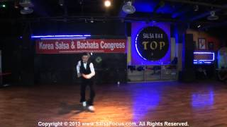 (2014.08.03) 2014 Korea salsa & Bachata Congressl  Club TOP 055 [performance] Jo