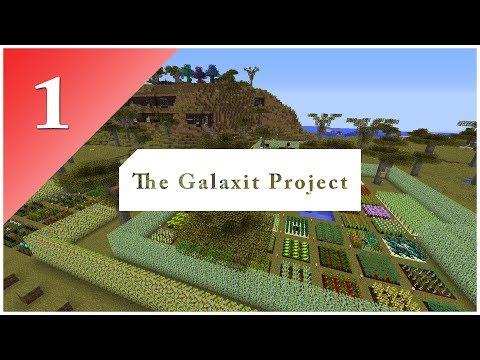 The Galaxit Project - E01 | Seznamování s modpackem |