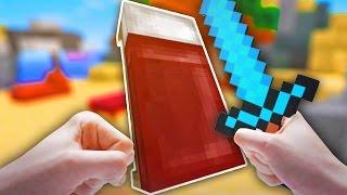 ГЕРОЙ АЛМАЗНОГО МЕЧА И КРОВАТИ | Minecraft