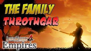 THIS FAMILY TREE DON'T BRANCH! Samurai Warriors 4 Empires (#25)