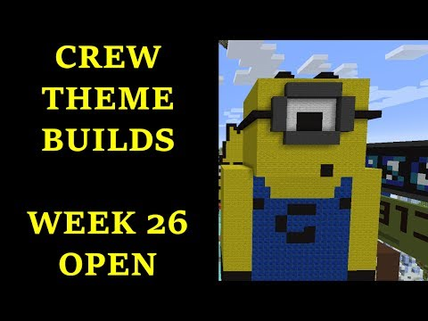 Minecraft - Your Theme Builds - Week 26 - Open Theme!