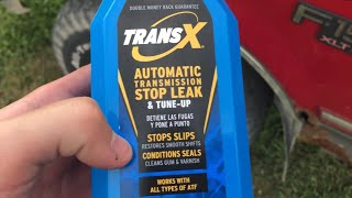 Does Trans-X (Automatic Transmission Stop Leak) actually work?