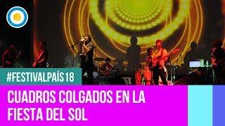 Festival País '18 - Cuadros colgados en la Fiesta Nacional del Sol
