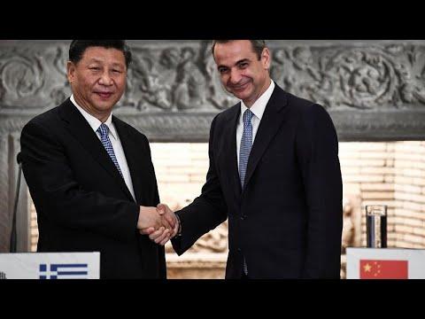 Grecia y China estrechan lazos comerciales con la firma de varios acuerdos