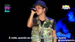 Bruno Mars - Talking To The Moon (Live HD) Legendado em PT- BR