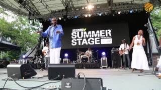 Oliver Mtukudzi, LIVE At NYC Summer Stage Series