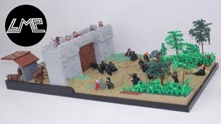 (HUGE) LEGO Medieval Castle MOC |Lord of the Rings|
