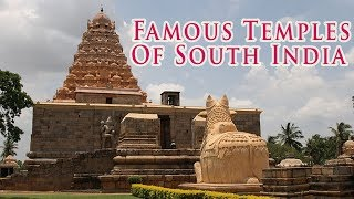 South India Temples - Most Famous & Amazing Temples of India - Powerful Pilgrimage Sites Must Visit