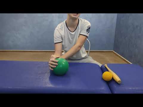 ЛФК при контрактуре лучезапястного сустава и пальцев руки. Разработка сухожилий.