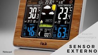 ESTACIÓN METEOROLÓGICA FanJu Wireless Weather station FJ3365