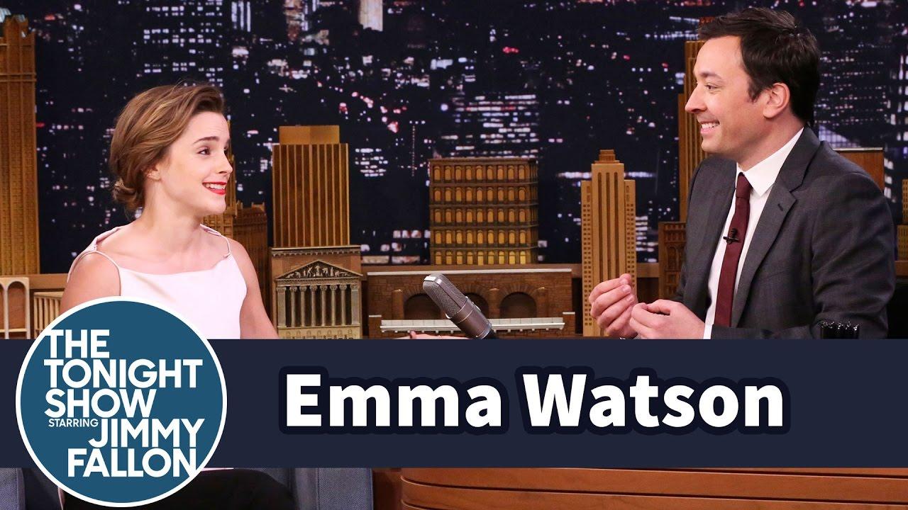 Emma Watson Once Mistook Jimmy Fallon for Jimmy Kimmel thumbnail
