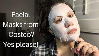 LAPCOS Facial Sheet Masks at Costco! A busy moms dream...
