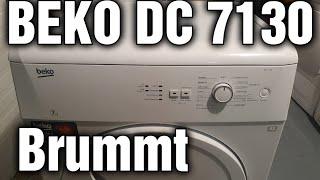Beko dc 7130 Brummt beim einschalten anlaufkondensator wechseln