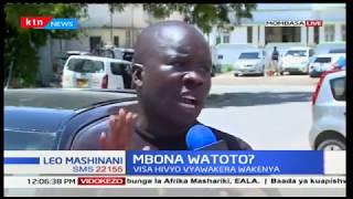 Hisia za waakazi wa Mombasa kuhusiana na mauaji kwa watoto wadogo na maafisa wa usalama