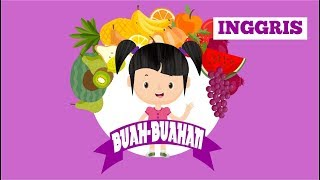 Belajar Membaca Nama Buah-buahan dalam Bahasa Inggris Bagian 3 | Bunbun Learning Fruits