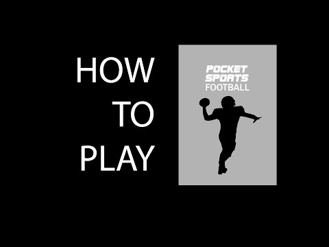 Pocket Sports American Football HOW TO PLAY