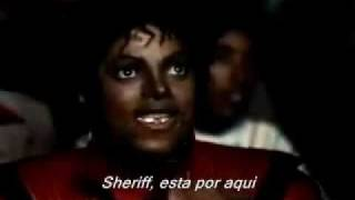 Michael Jackson Thriller (Des. Español) (Subs. Ingles) Parte 1