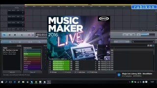 How to install MAGIX Music Maker 2016 Live + crack Free