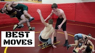 Top 5 Wrestling Moves *TAKEDOWNS*
