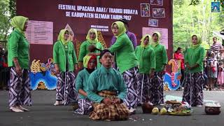Festival Upacara Adat/Tradisi se-Kecamatan Sleman 2017