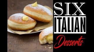 5 Italian Desserts - CRAVE FIX
