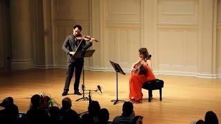 Paganini Cantabile - Ana Vidovic (guitar) And David Lisker (violin)