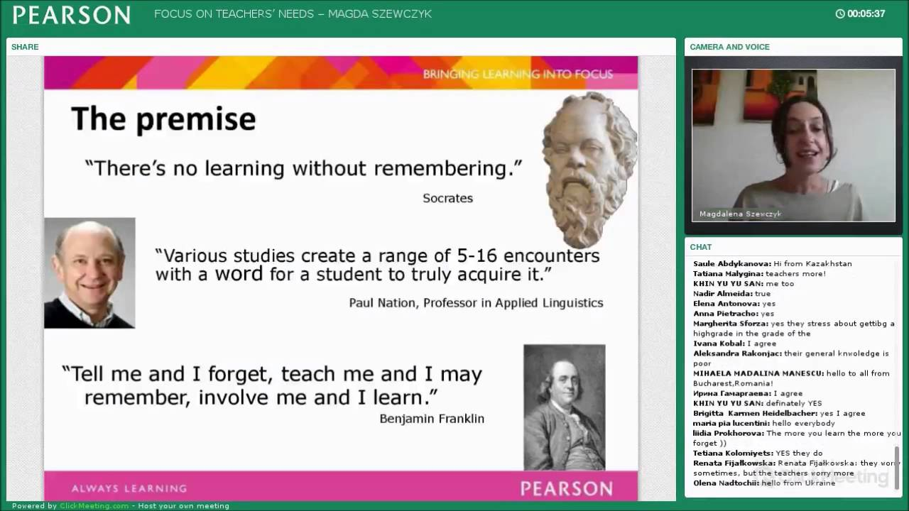 Magda Szewczyk's webinar on Teaching Tricks