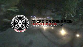 Tiny Whoop Solo Run Pactice [Rajawali Whoop] | MDRI v5 | Micro Drone Race Indonesia