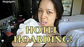 HOTEL HOARDING! - June 05, 2014 - itsJudysLife Daily Vlog