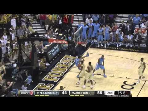 Video: North Carolina-Wake Forest Game Highlights