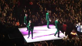 Boyzone - Right Here Waiting and Baby Can I Hold You - Encore Part 1 (Live) Wembley Arena London