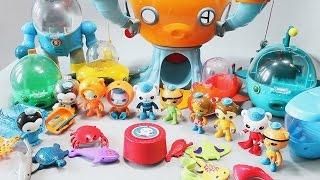 Октонавты и их подводный мир. Развлекающие и развивающие видео обзоры детских игрушек