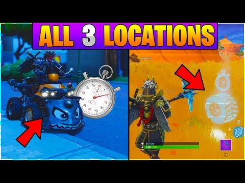 All 6 Vehicle Time Trial Locations In Fortnite Season 6 Challenge