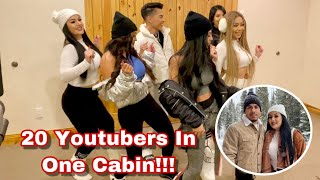 Making TikTok Videos With Youtubers In The Snow!!! (Vlogmas Day 14)