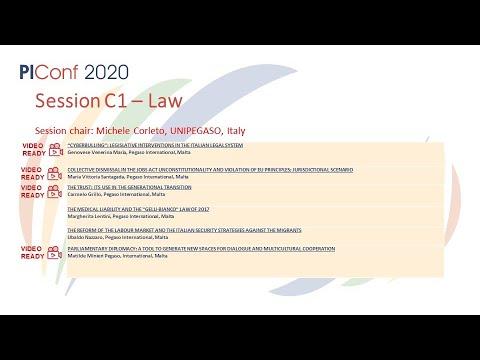 Session C1 - Law