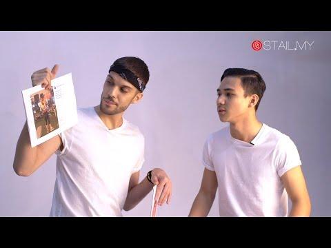 #STAILNewActors Spektrum Seni Pelakon Lelaki Milenial: Jesh Thiam & Raja Atiq