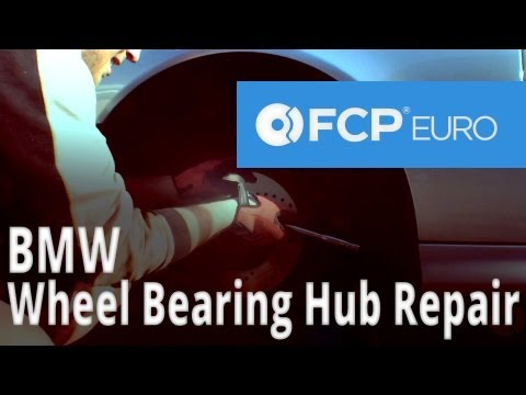 BMW Wheel Bearing Hub Replacement (E39 540, 530, 528) FCP Euro