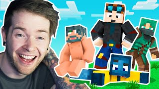 We Started a NEW Minecraft SMP.. (Shady Oaks SMP)