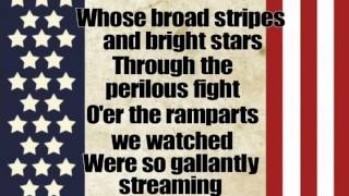 Star Spangled Banner with Lyrics