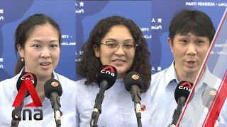 GE2020: WP's He Ting Ru, Raeesah Khan, Jamus Lim thank supporters after winning Sengkang GRC
