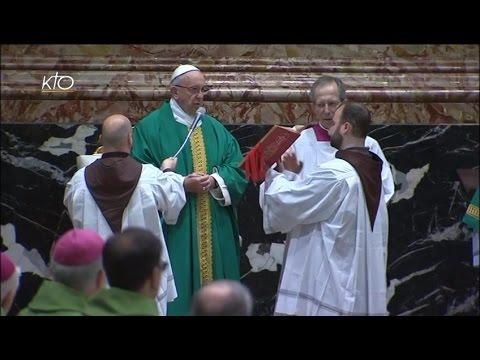 Messe du Pape pour les Frères Mineurs Capucins