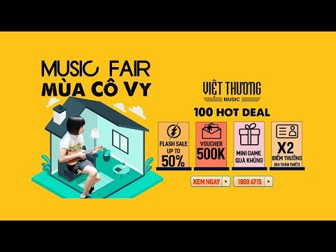 Music Fair Mùa Cô Vy 2020 - Việt Thương Music Fair mùa thứ 7 chính thức ra mắt