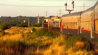 preview picture of video 'GM GT-22 9079 encarando la curva de Grunbein (05-02-2014)'