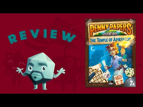Penny Papers Adventures: The Temple of Apikhabou Review - with Zee Garcia