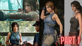 Kid Lara Croft Shadow of the Tomb Raider Part 1 HD 2021 | Adventure game