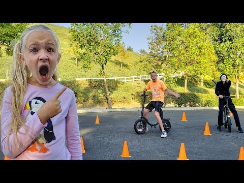 Game Master Caught Leaving Challenges Our Dad to Obstacle Course Race!!!