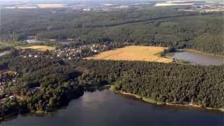 preview picture of video 'Let ultralehkým letadlem kolem Plzně / Flight around Pilsen'