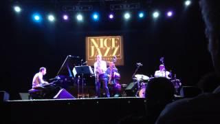 """Yesterdays"" Joshua Redman Quartet # 5  Nice Jazz 2014"