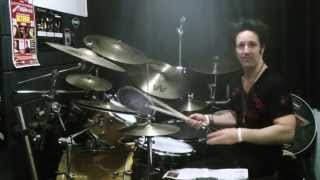 Glen Sobel  How To Fake Double Bass  Lesson