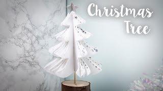 How To Make A Felt Christmas Tree - Sizzix Lifestyle